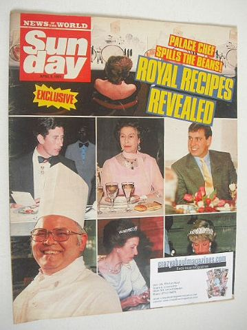 <!--1989-04-09-->Sunday magazine - 9 April 1989 - Royal Recipes Revealed co