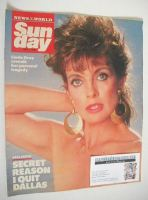<!--1990-07-01-->Sunday magazine - 1 July 1990 - Linda Gray cover