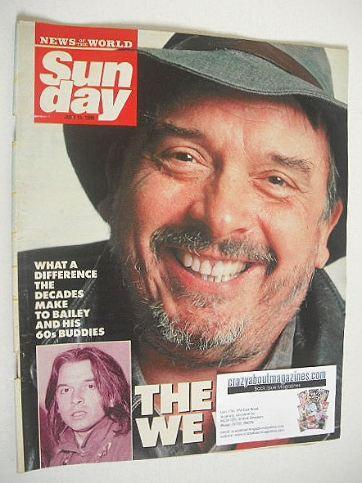 <!--1990-07-15-->Sunday magazine - 15 July 1990 - David Bailey cover