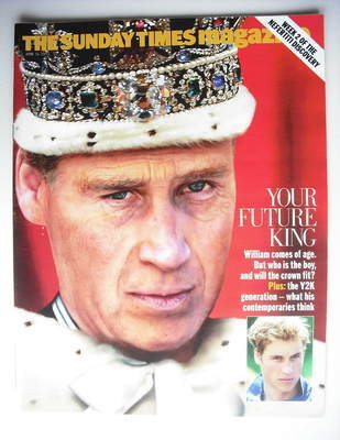 <!--2003-06-15-->The Sunday Times magazine - Prince William cover (15 June