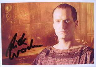Nicholas Woodeson autograph