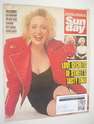 <!--1989-07-02-->Sunday magazine - 2 July 1989 - Michelle Holmes cover
