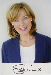 Sian Williams autograph