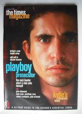 <!--1998-03-07-->The Times magazine - Arno Klarsfeld cover (7 March 1998)