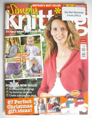 Simply Knitting magazine (Issue 34 - November 2007)