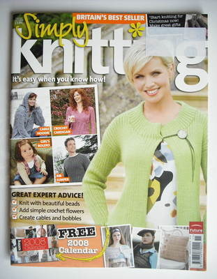 Simply Knitting magazine (Issue 33 - October 2007)