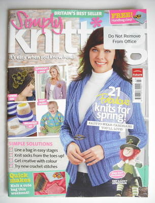 Simply Knitting magazine (Issue 38 - March 2008)