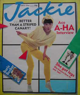 <!--1986-06-28-->Jackie magazine - 28 June 1986 (Issue 1173)