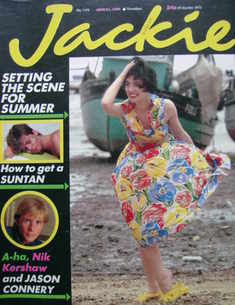 <!--1986-06-21-->Jackie magazine - 21 June 1986 (Issue 1172)