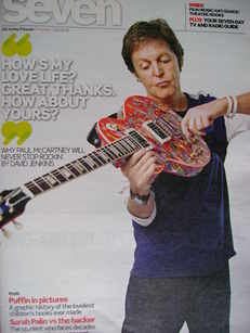 Seven magazine - Paul McCartney cover (23 May 2010)