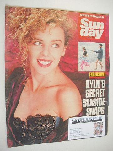 <!--1989-06-25-->Sunday magazine - 25 June 1989 - Kylie Minogue cover