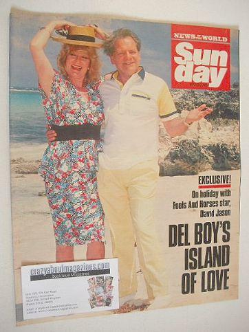 <!--1989-05-28-->Sunday magazine - 28 May 1989 - David Jason cover