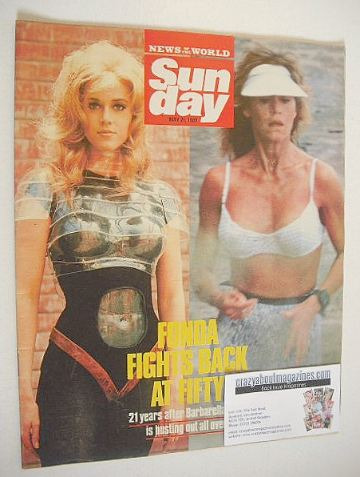 <!--1989-05-21-->Sunday magazine - 21 May 1989 - Jane Fonda cover