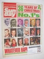 <!--1988-12-18-->Sunday magazine - 18 December 1988 - 36 Years of Christmas No.1's cover