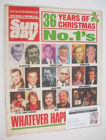 <!--1988-12-18-->Sunday magazine - 18 December 1988 - 36 Years of Christmas