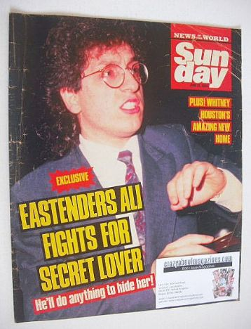 <!--1988-06-19-->Sunday magazine - 19 June 1988 - Nejdet Salih cover