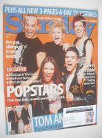 <!--2001-02-18-->Sunday magazine - 18 February 2001 - Hear'Say cover