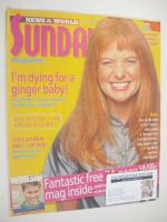 <!--2000-06-11-->Sunday magazine - 11 June 2000 - Patsy Palmer cover