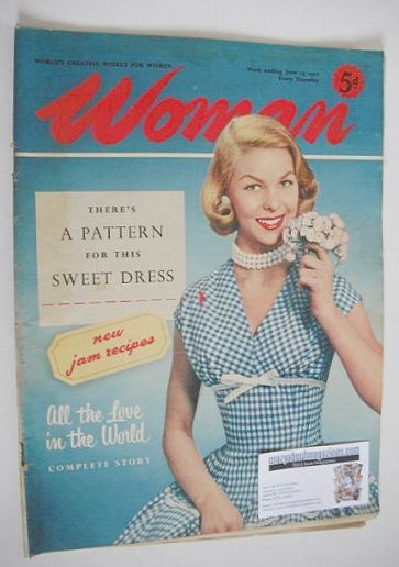 <!--1957-06-15-->Woman magazine - 15 June 1957