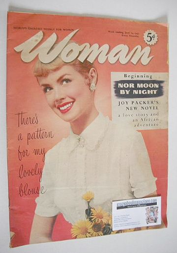 <!--1957-06-29-->Woman magazine - 29 June 1957