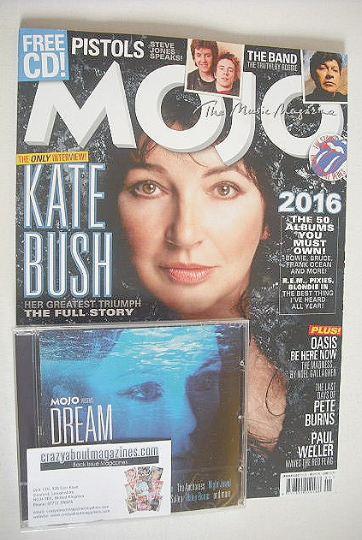 <!--2017-01-->Mojo magazine - Kate Bush cover (January 2017)