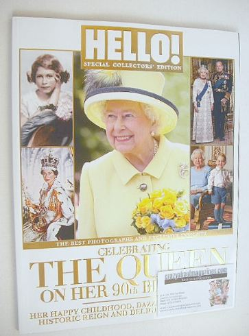 <!--2016-06-01-->Hello! magazine - The Queen Special Collectors' Edition (J