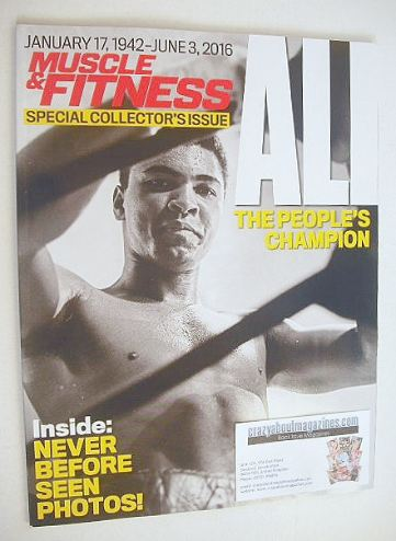 <!--2016-06-->Muscle & Fitness magazine (Summer 2016 - Muhammad Ali cover)