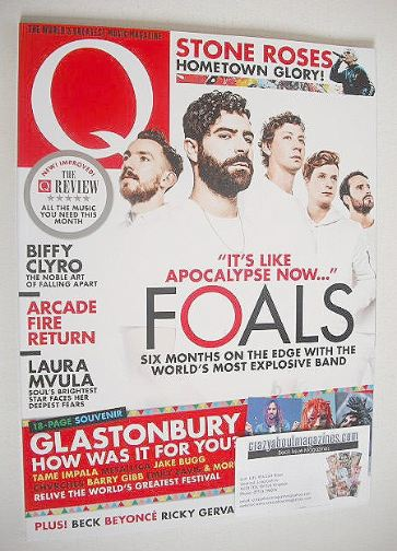 <!--2016-09-->Q magazine - Foals cover (September 2016)