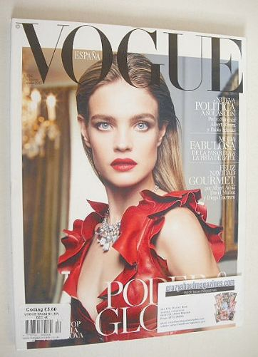 <!--2015-12-->Vogue Espana magazine - December 2015 - Natalia Vodianova cov