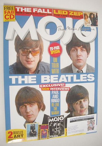 <!--2016-10-->Mojo magazine - The Beatles cover (October 2016)
