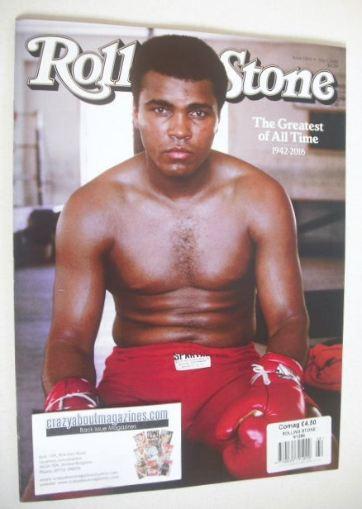 <!--2016-07-01-->Rolling Stone magazine - Muhammad Ali cover (1 July 2016)