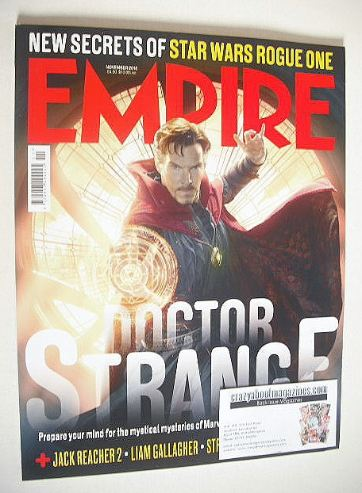 <!--2016-11-->Empire magazine - November 2016 - Benedict Cumberbatch cover