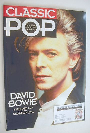 <!--2016-02-->Classic Pop magazine - David Bowie cover (February/March 2016