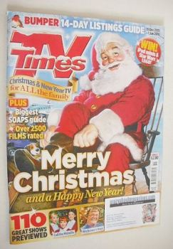 TV Times magazine - Christmas issue (19 December 2015 - 1 January 2016)