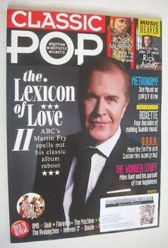 Classic Pop magazine - Martin Fry cover (August/September 2016)