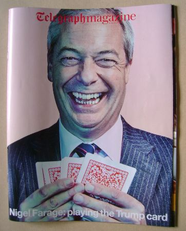 <!--2016-12-10-->The Daily Telegraph magazine - Nigel Farage cover (10 Dece