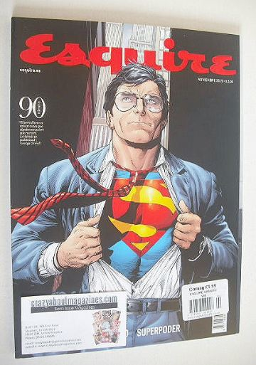 <!--2015-11-->Esquire magazine - Superman cover (November 2015)