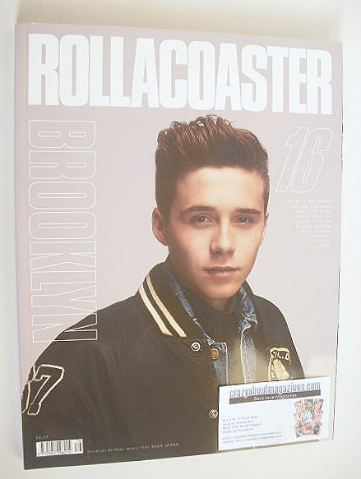 Rollacoaster magazine - Brooklyn Beckham cover (Issue 16)