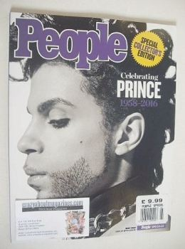 People magazine - Prince cover (May 2016)