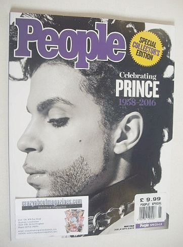 <!--2016-05-->People magazine - Prince cover (May 2016)