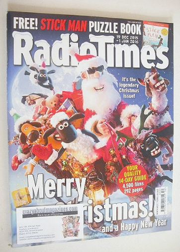 <!--2015-12-19-->Radio Times magazine - Christmas Issue (19 December 2015 -