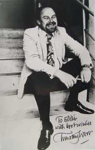 Timothy West autograph