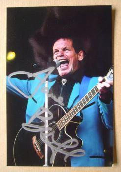Dave Bartram autograph