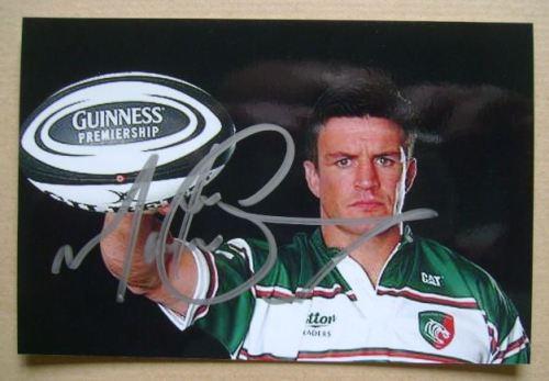 Martin Corry autograph