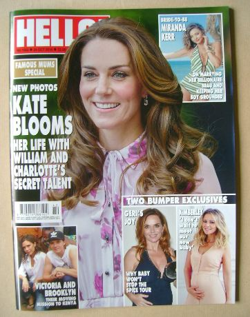 <!--2016-10-24-->Hello! magazine - Kate Middleton cover (24 October 2016 -