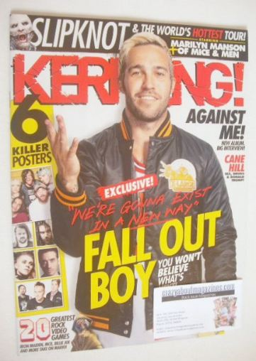 <!--2016-07-23-->Kerrang magazine - Fall Out Boy cover (23 July 2016 - Issu