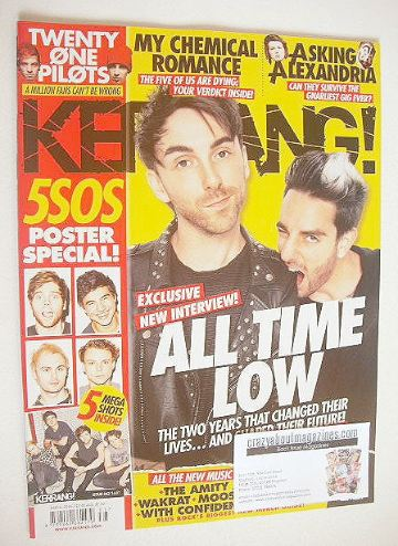 <!--2016-08-06-->Kerrang magazine - All Time Low cover (6 August 2016 - Iss
