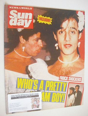 <!--1988-01-31-->Sunday magazine - 31 January 1988 - George Michael and And