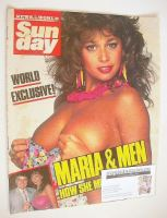 <!--1987-08-02-->Sunday magazine - 2 August 1987 - Maria Whittaker cover