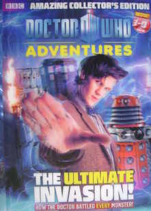 Doctor Who Adventures magazine - Matt Smith 3-D cover (1-7 July 2010)